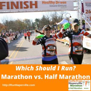 Marathon vs. Half Marathon